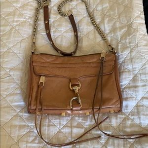 Rebecca Minkoff Leather Camel Crossbody